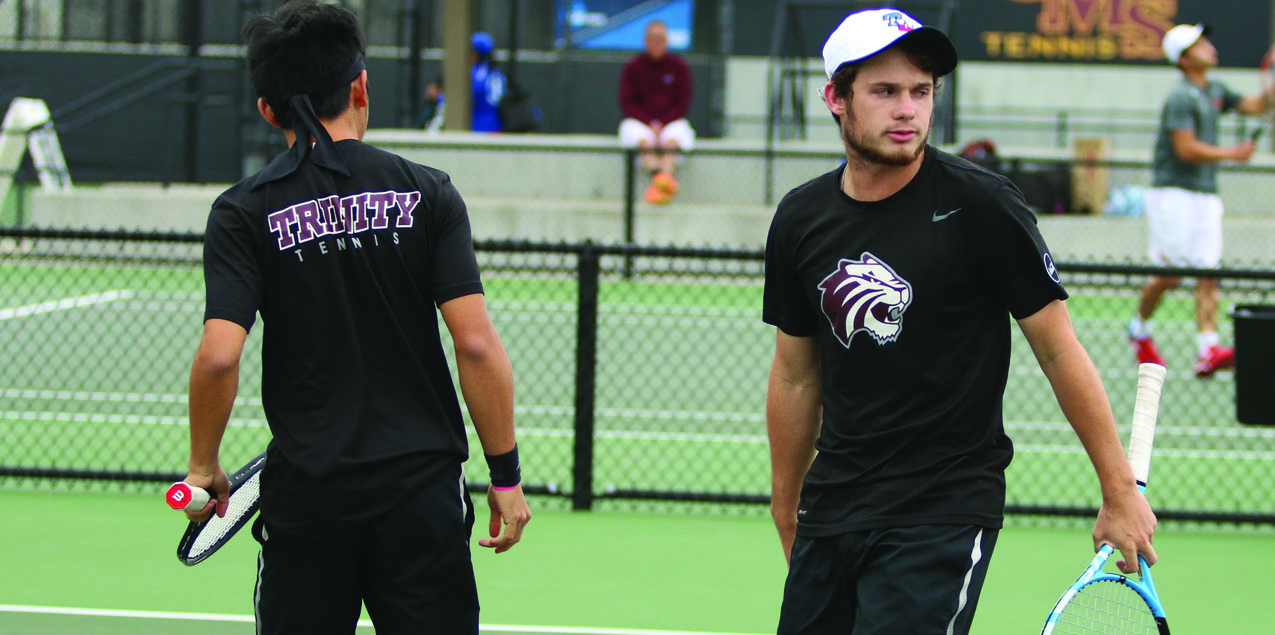 Trinity Men's Tennis Falls to Claremont-Mudd-Scripps in NCAA Tournament