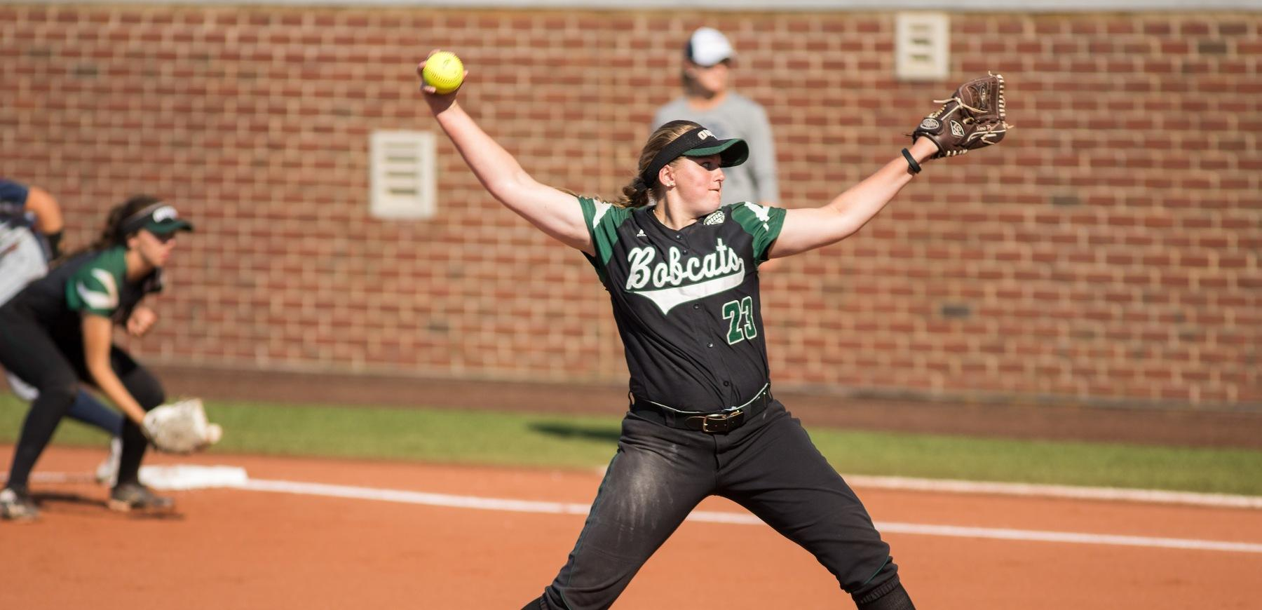 Stiene's 14 Strikeouts Leads Ohio Softball to 3-0 Victory Against Jacksonville State