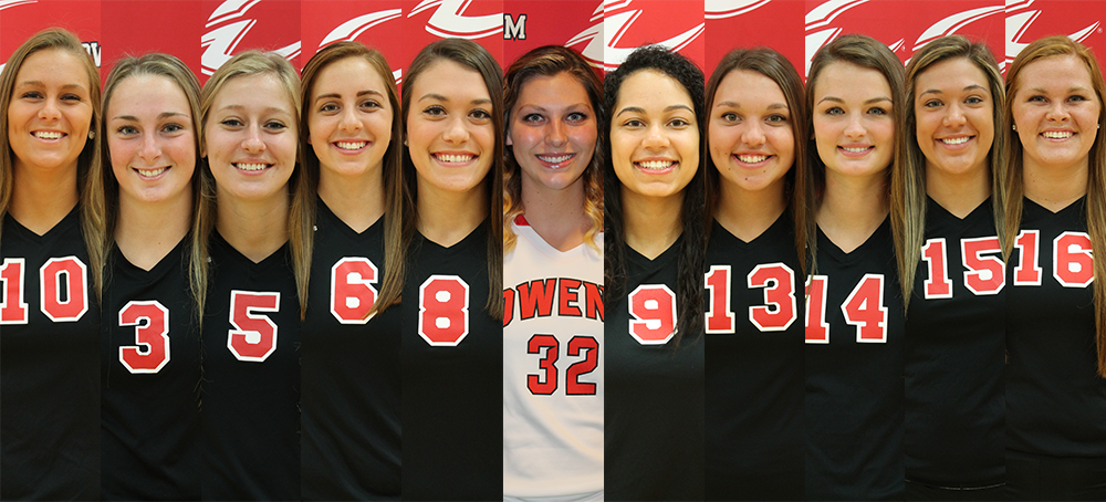 Frost, Owens Volleyball Team Headline OCCAC All-Academic Selections