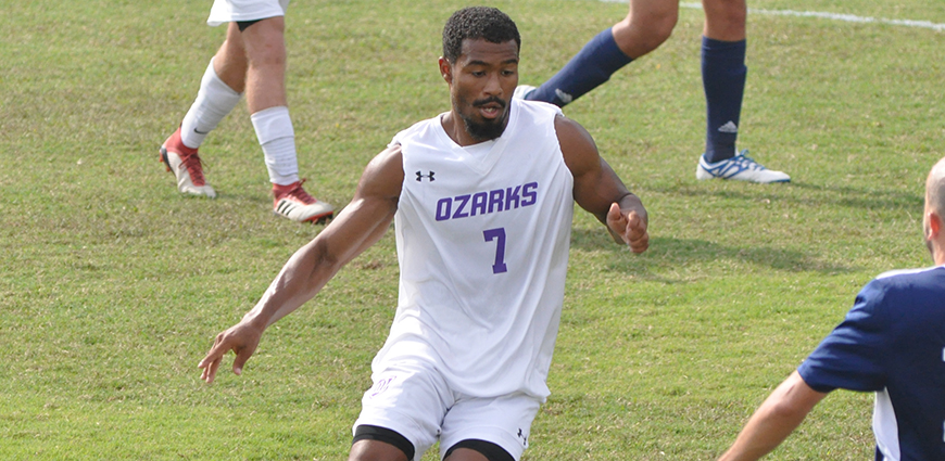 Michael Luster created numerous opportunities to score in the first round playoff match against ETBU, but it was the Tigers that came through with the game-winner.