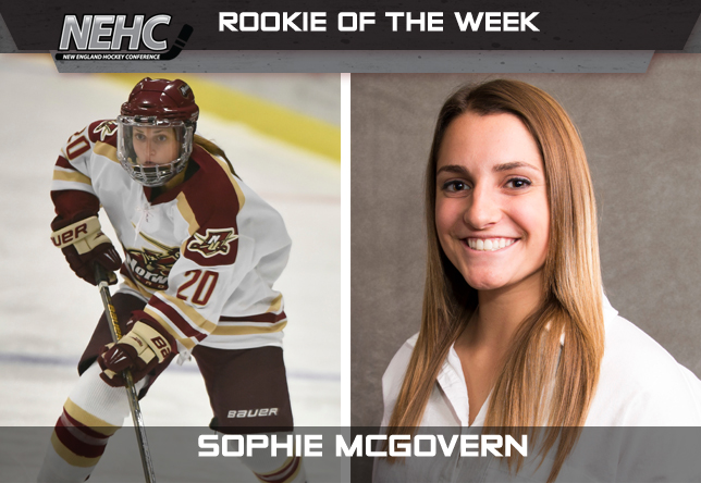 Sophie McGovern - Women's Hockey