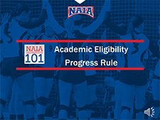 Academic Eligibility for Continuing Students video