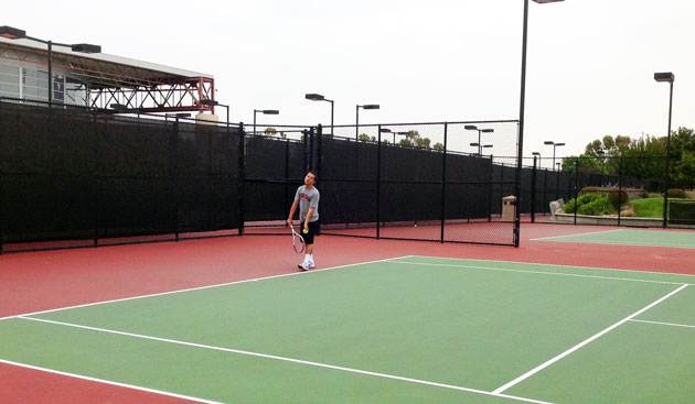Men's Tennis Newest Member Set to Play at Battle in the Bay