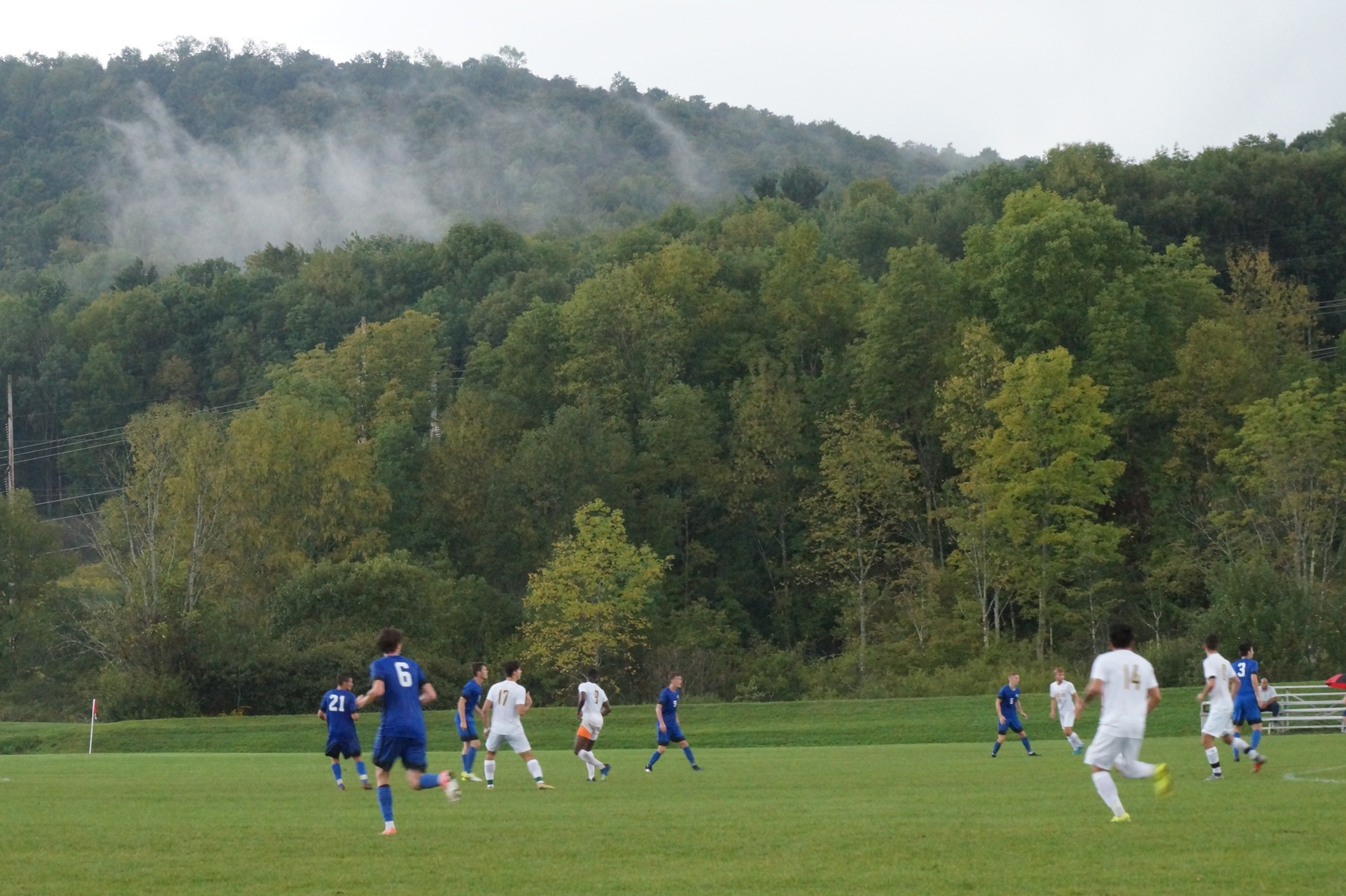 Men's Soccer Takes 1-0 Defeat at Hands of Clarks Summit