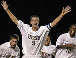 Jones' Hat-Trick Leads Top-Ranked UCSB Past UC Riverside, 3-0