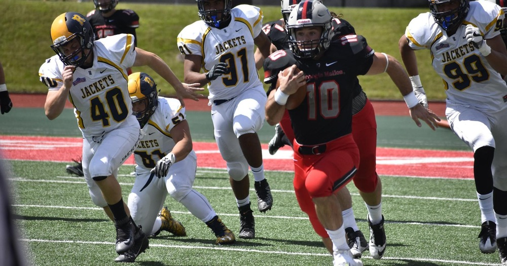 Strong First Half Propels Carnegie Mellon Football to a 42-14 Win Over Rochester