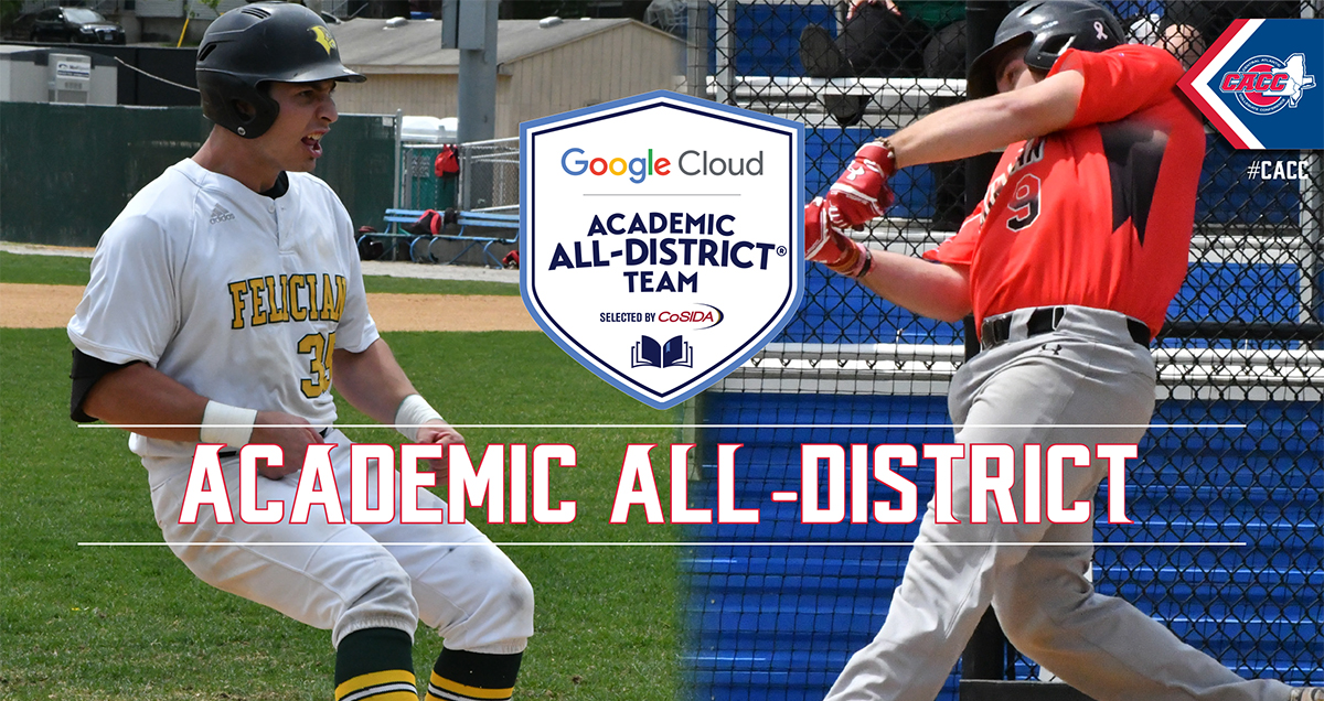 Dominican's Justin Decker & Felician's Matt Diesel Named to 2018 Google Cloud CoSIDA Academic All-District I Team