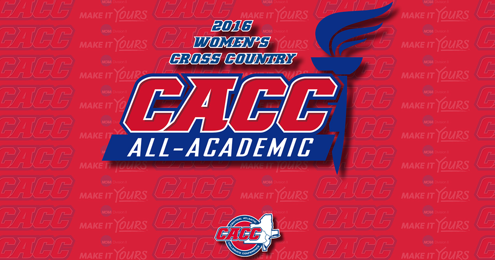 Three Warriors Named to CACC Women's XC All-Academic Team