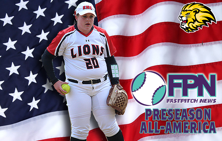 Elisabeth Schaffer Tabbed First Team Preseason All-American by Fastpitch News
