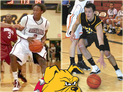 Milton Cribbs (left) and Matt Sinnaeve (right) have joined the Bulldog program.  Photos courtesy of Detroit Free Press & Marquette Mining Journal, respectively (online editions)