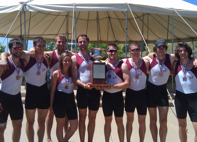 Santa Clara Wins First-Ever Men's Crew WCC Trophy at WIRA's!