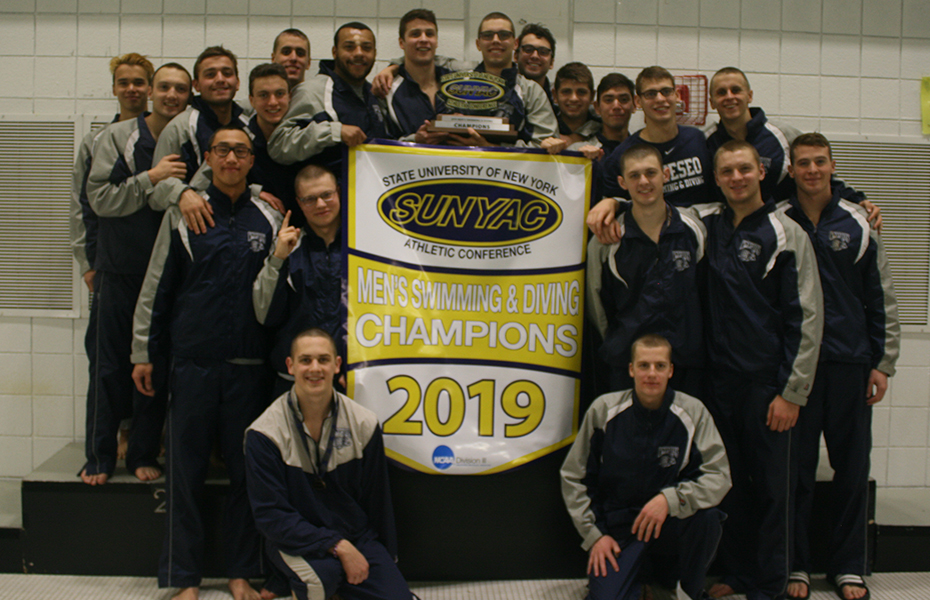 Geneseo takes 2019 men's swimming and diving championship