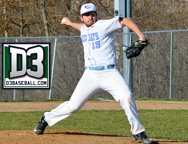 Brinker Named to D3Baseball.Com Team of the Week