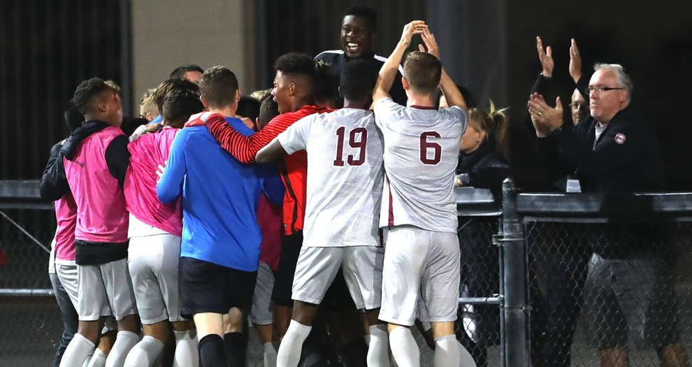 Men's Soccer Comes From Behind To Down Cal, 3-2, in Overtime