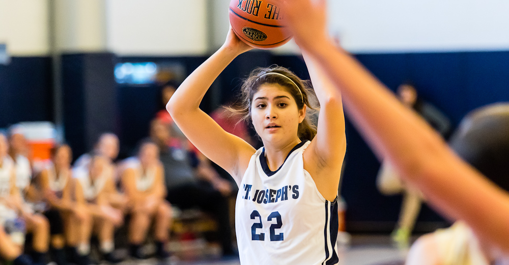 Freshman Lauren Quesada recorded her fourth double-double with career highs of 24 points and 19 rebounds.