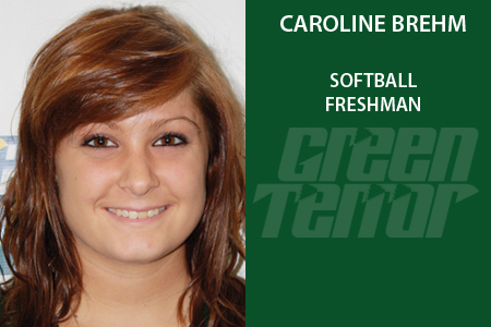 Brehm named Pitcher of the Week