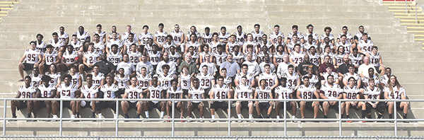 Jaguar Football ranked #19 in State according to JC Athletic Bureau Poll of Calif. CC Football Coaches