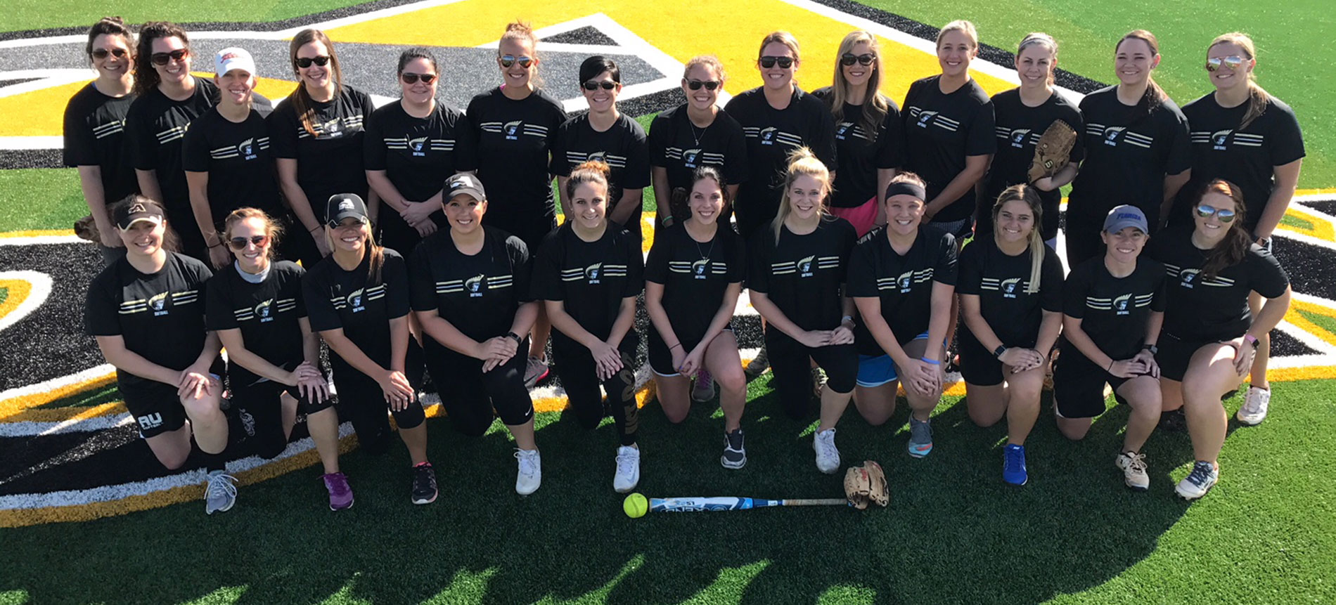 Softball Hosted Annual Alumnae Game over the Weekend