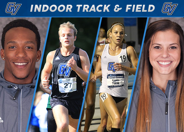 GVSU Sweeps First Indoor Track & Field Weekly Honors