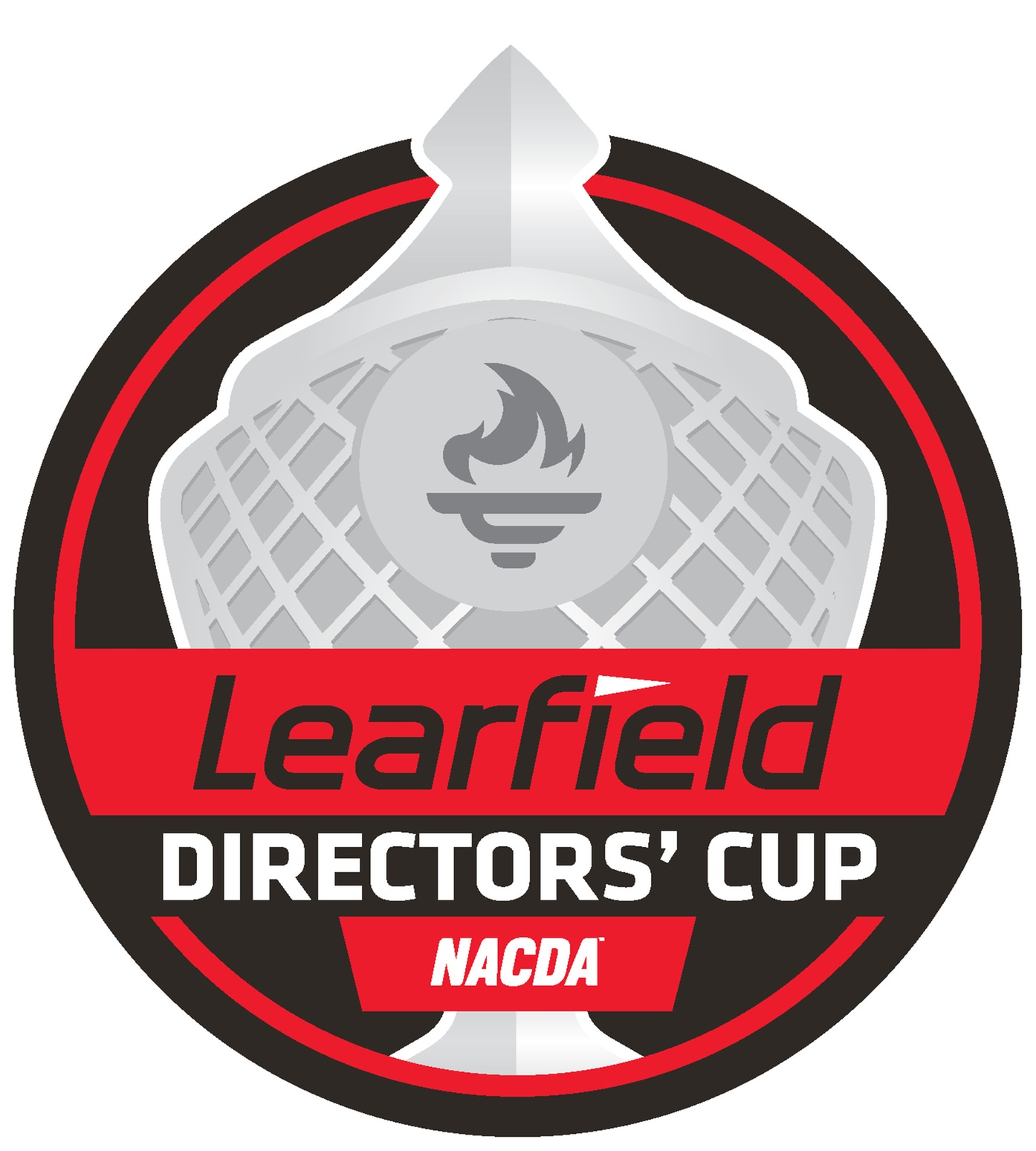Learfield Directors Cup black and red logo