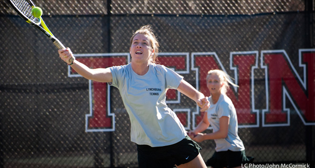 LC Women's Tennis Wins 6-3 Over Sweet Briar
