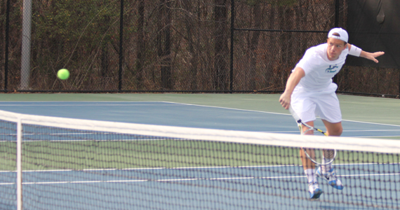 No. 16 Men's Tennis Downs No. 13 Valdosta State, 6-3