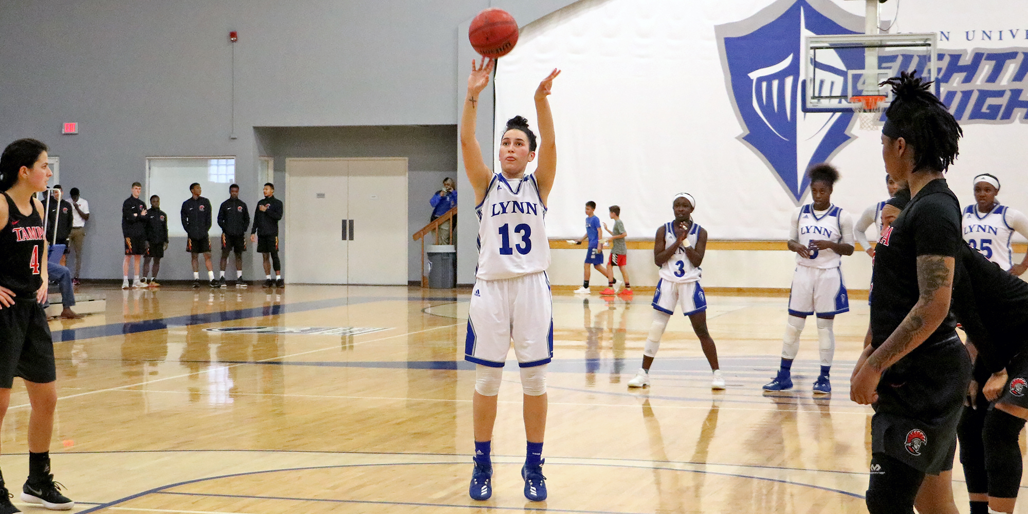 Women's Basketball Triumphs Over Tampa