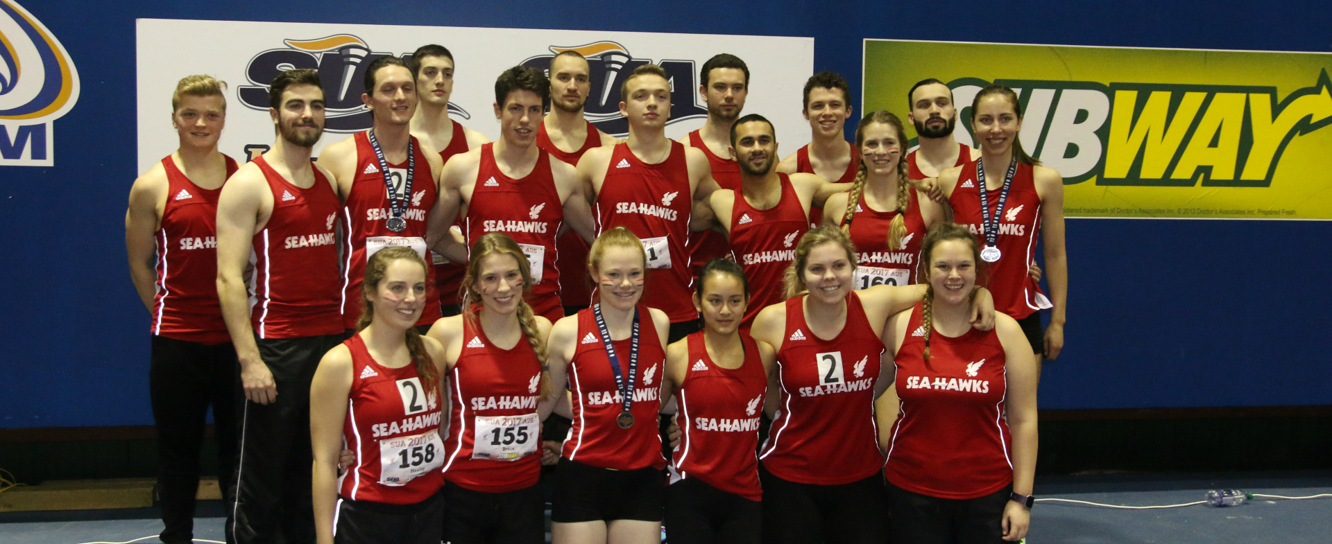 Sea-Hawks With Strong Showing at T&F Championships