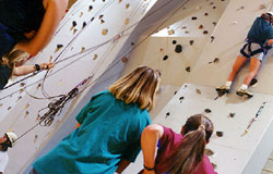 Climbing Wall action picture