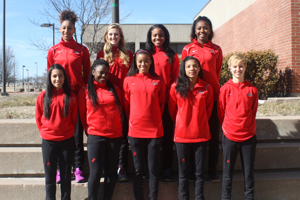 Red Devil track team posts big marks and performances in final tune up