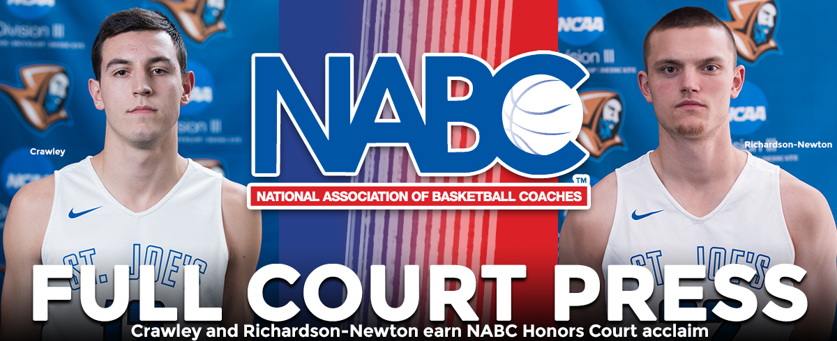 Pair of SJC Men's Hoopsters Collect NABC Academic Accolades