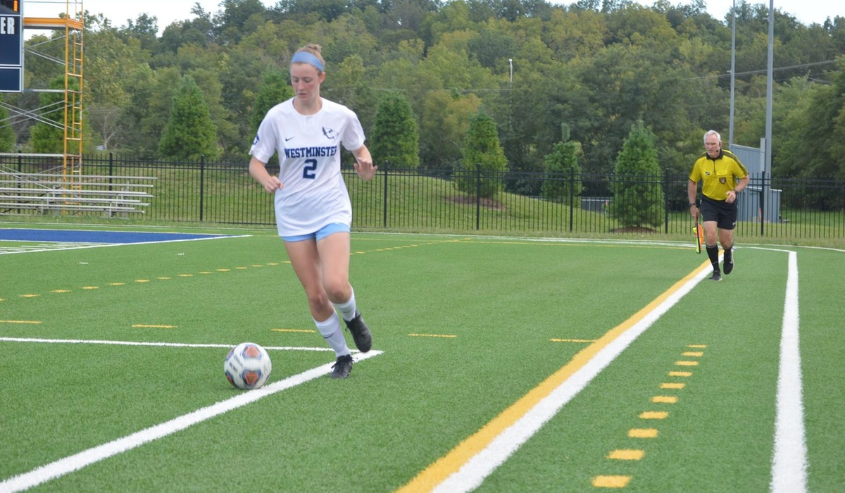 Late Goal Pushes Elmhurst Past Westminster Women's Soccer