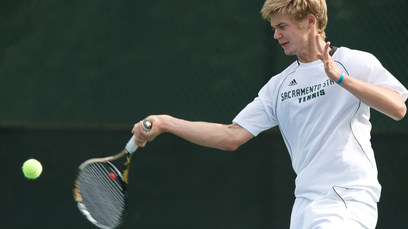 MEN'S TENNIS WRAPS UP PLAY AT A PAIR OF TOURNAMENTS OVER THE WEEKEND
