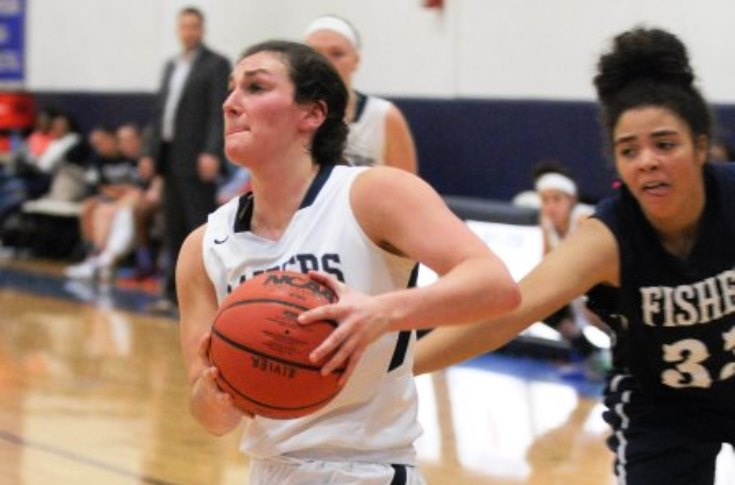 Women's Basketball: DeBaldo's double-double leads Raiders over Fisher, 97-74