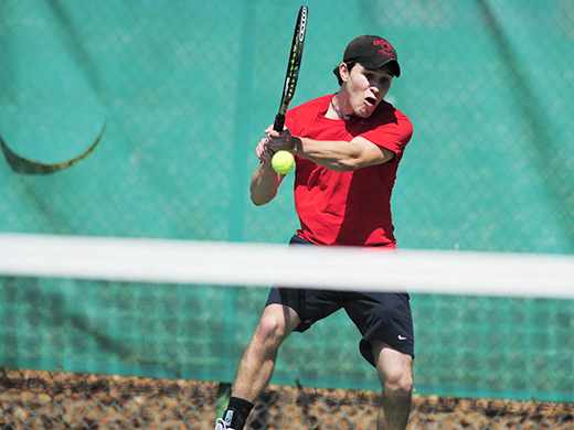 Men's tennis places four players on all-conference team