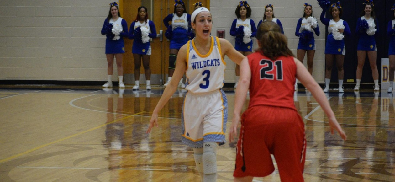Late Charge Gives Women's Basketball a 55-48 Win over Bridgewater State