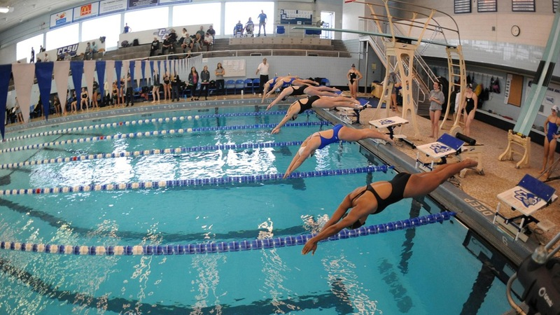Swimming and Diving Competes at UConn vs. Huskies and St. Bonaventure