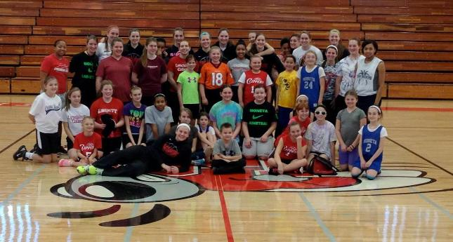 Women's Basketball Clinic 2014