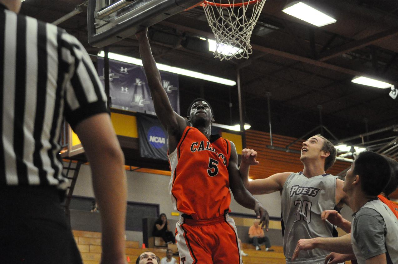 Emezie Leads Way to Third Straight SCIAC Home Win,   70-69 Over La Verne