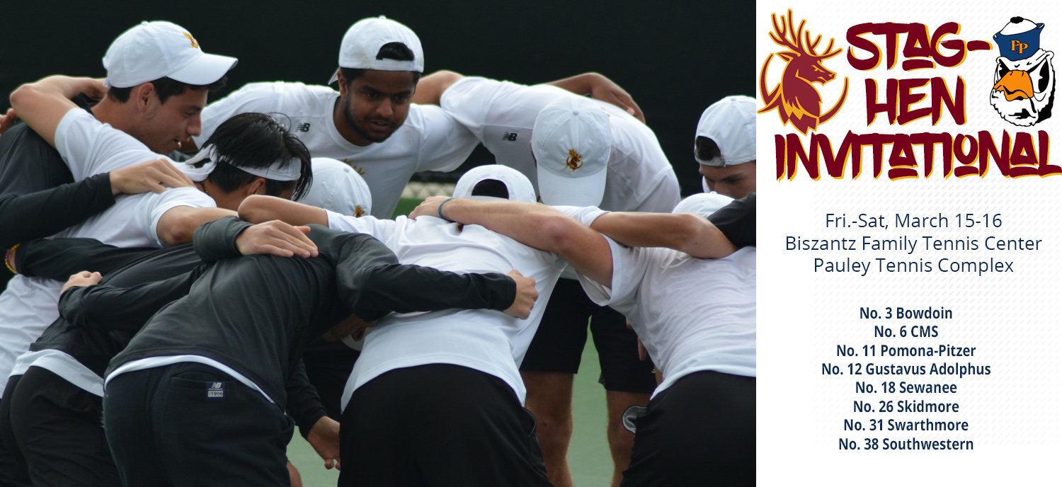 CMS Men's Tennis to Co-Host Annual Stag-Hen Invitational Friday and Saturday