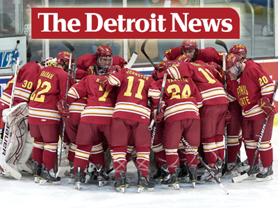 Bulldog Hockey Featured In Detroit News