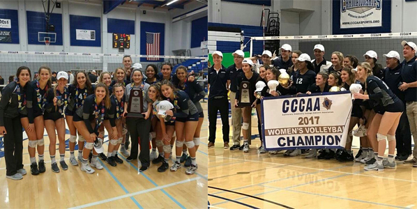 Perfect ending for women's volleyball team - State Champs
