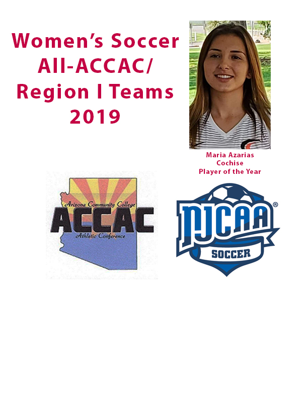All-ACCAC/NJCAA Region I women's soccer teams announced