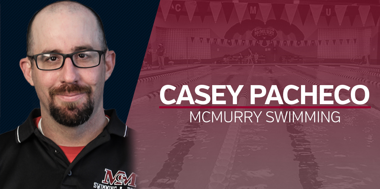 McMurry Names Pacheco as Head Swimming Coach