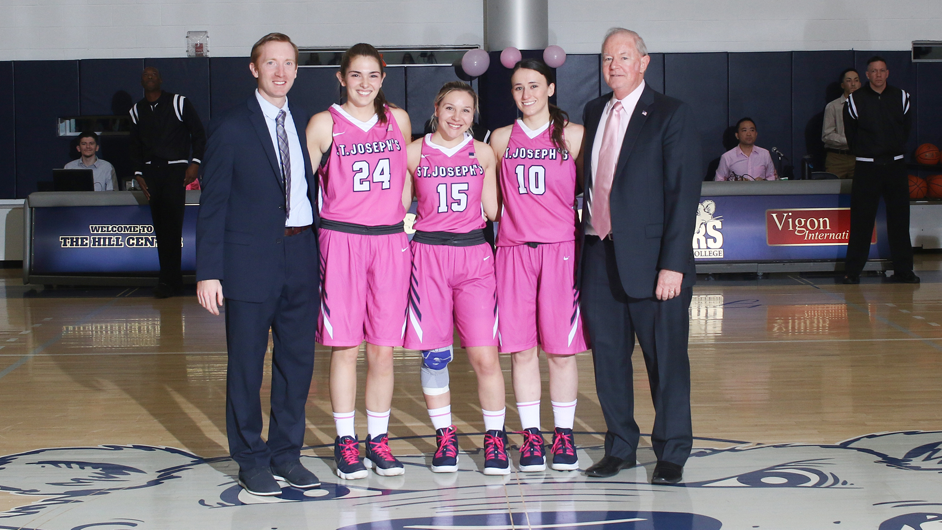 Women's Basketball Secures First Home Playoff Game With Senior Night Win Over Yeshiva
