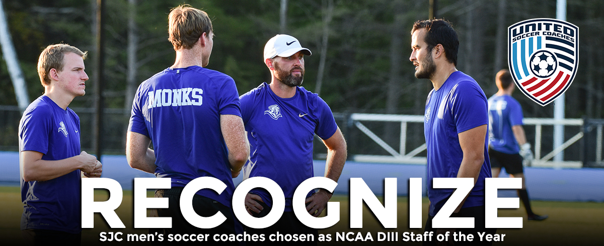 SJC Men's Soccer Coaches Named NCAA DIII Regional Staff of the Year