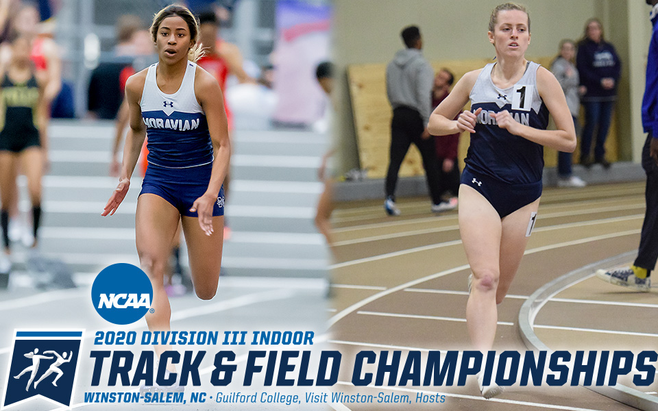 Amanda Crooks and Carly Danoski have qualified for the 2020 NCAA Division III Indoor National Championships in North Carolina.