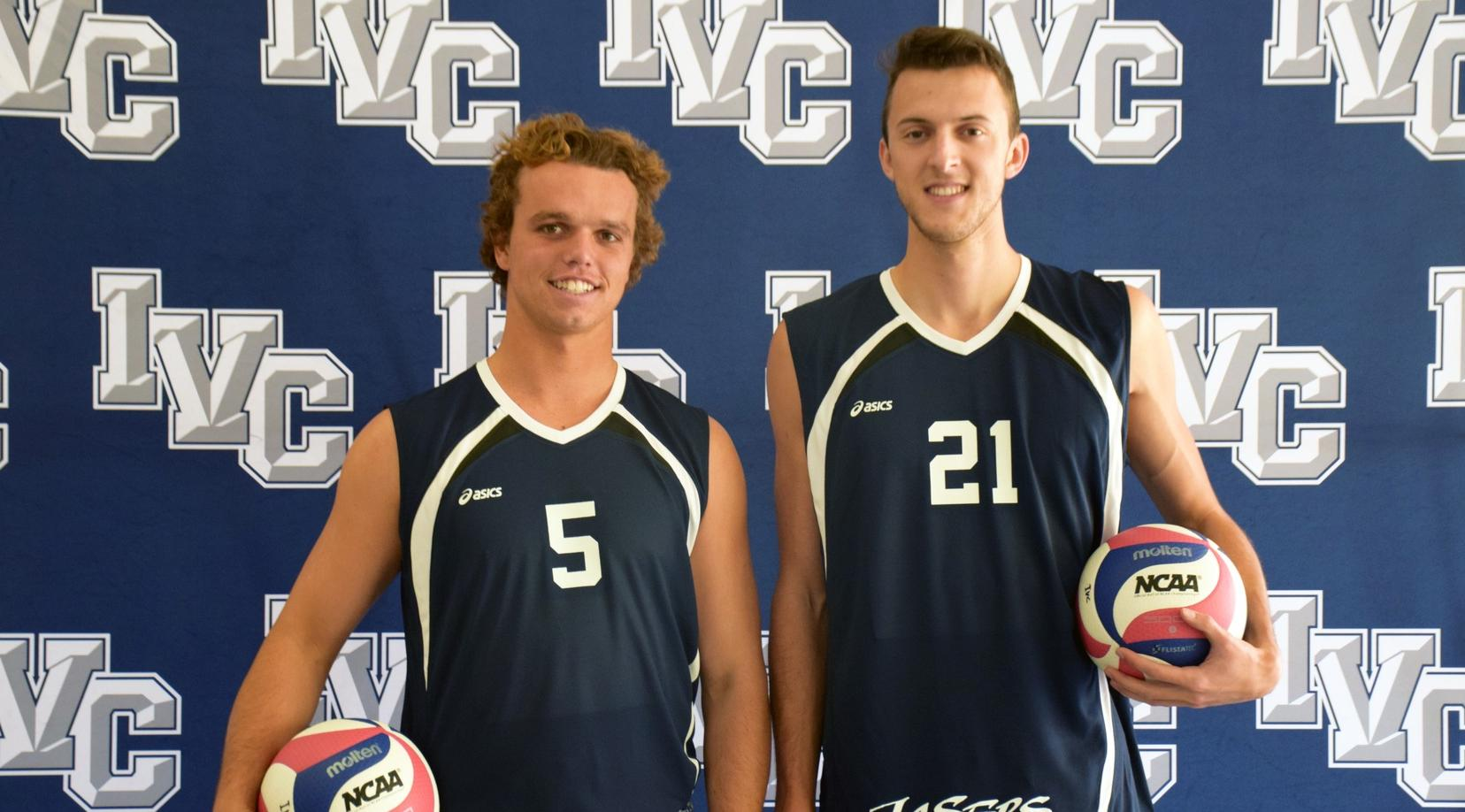 Four men's volleyball players named to all-conference squads