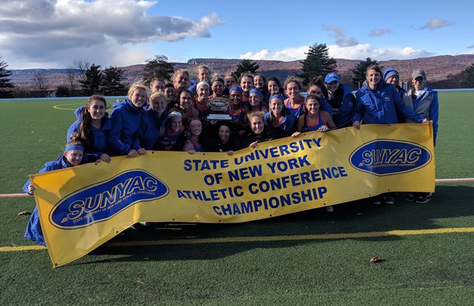 New Paltz wins 2018 SUNYAC field hockey title