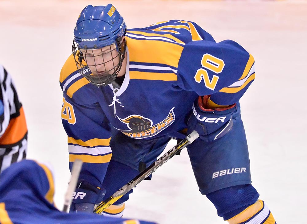 Men's Ice Hockey Shuts Out Framingham State, 6-0